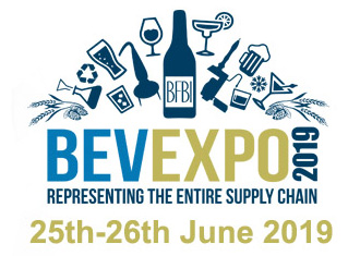 Bev Expo 25th to 26th June 2019. Click here to visit the Bev Expo show website
