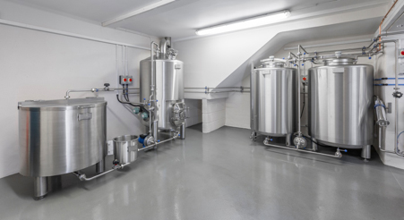 Peak Ales' new microbrewery designed and installed by Moeschle.