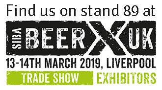 BeerX 2019. Click here to visit the BeerX show website