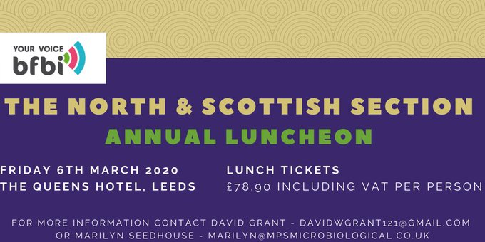 bfbi North & Scottish Section Annual Luncheon