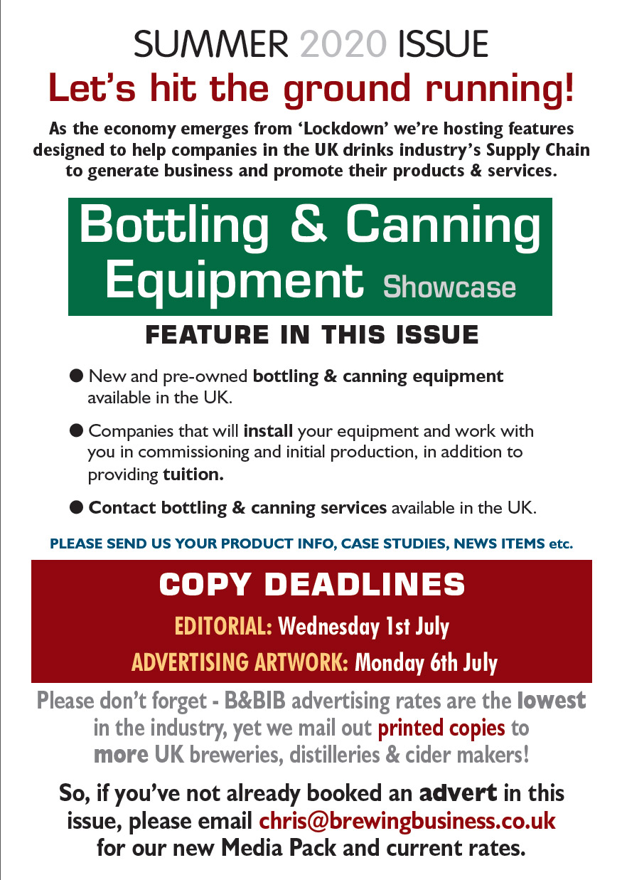 bottling and canning equipment showcase