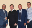 Pictured from left to right: Peter Swift – GEA, Head of Separation Sales UK; Ken Wild – Moody Direct, Director; Barry Dumble – GEA, Managing Director UK; Paul Gregory – Moody Direct, Non-Executive Director; Paul Leeman – GEA, Head of Flow Components & Compression Sales UK; David Tomlinson – Moody Direct, Director.