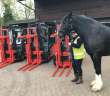 New forklift attachments get a grip on kegs at Wadworth Brewery.